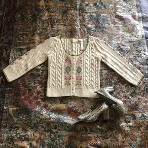 Guinevere  Crop Sweater